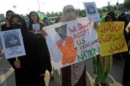 Aafia Protest